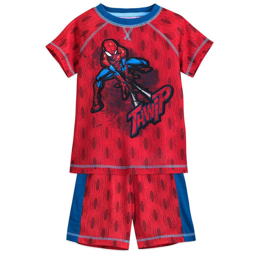 Disney Store Marvel Avengers Infinity War Boys Pajamas Set Size 3 4 5//6 7//8 9//10