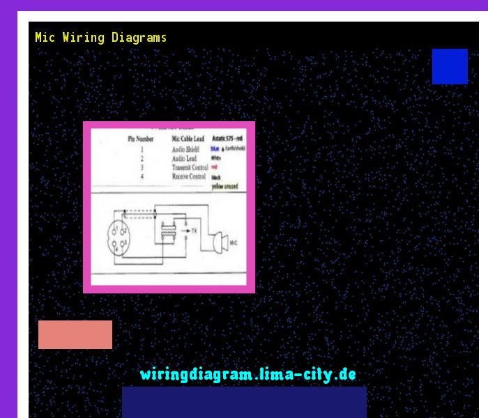Mic Wiring Diagrams Wiring Diagram 185912 Amazing Wiring Diagram Collection Diagram Wire Mic