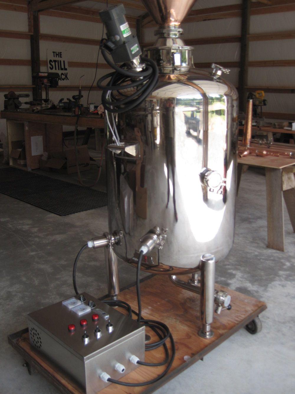 200l Still 026 Jpg Electric Heaters Essential Oil Distiller Heating Equipment