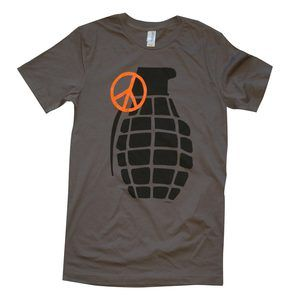 Grenade Men's  T-Shirt Green, now featured on Fab.