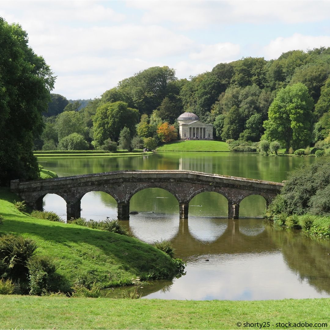 Wie Gemalt Der Englische Landschaftsgarten Englischer Landschaftsgarten Englischer Garten Parks