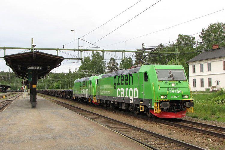 Green Cargo In 2020 Train Electric Train Railway