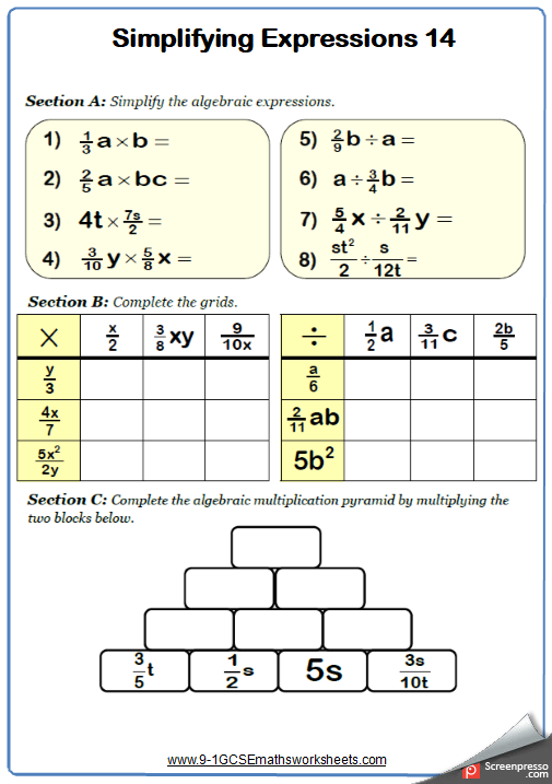 Pin By 9 1 Gcse Maths Worksheets On Gcse Maths Worksheets And