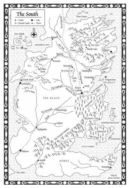 Image Result For Game Of Thrones Map Of Essos