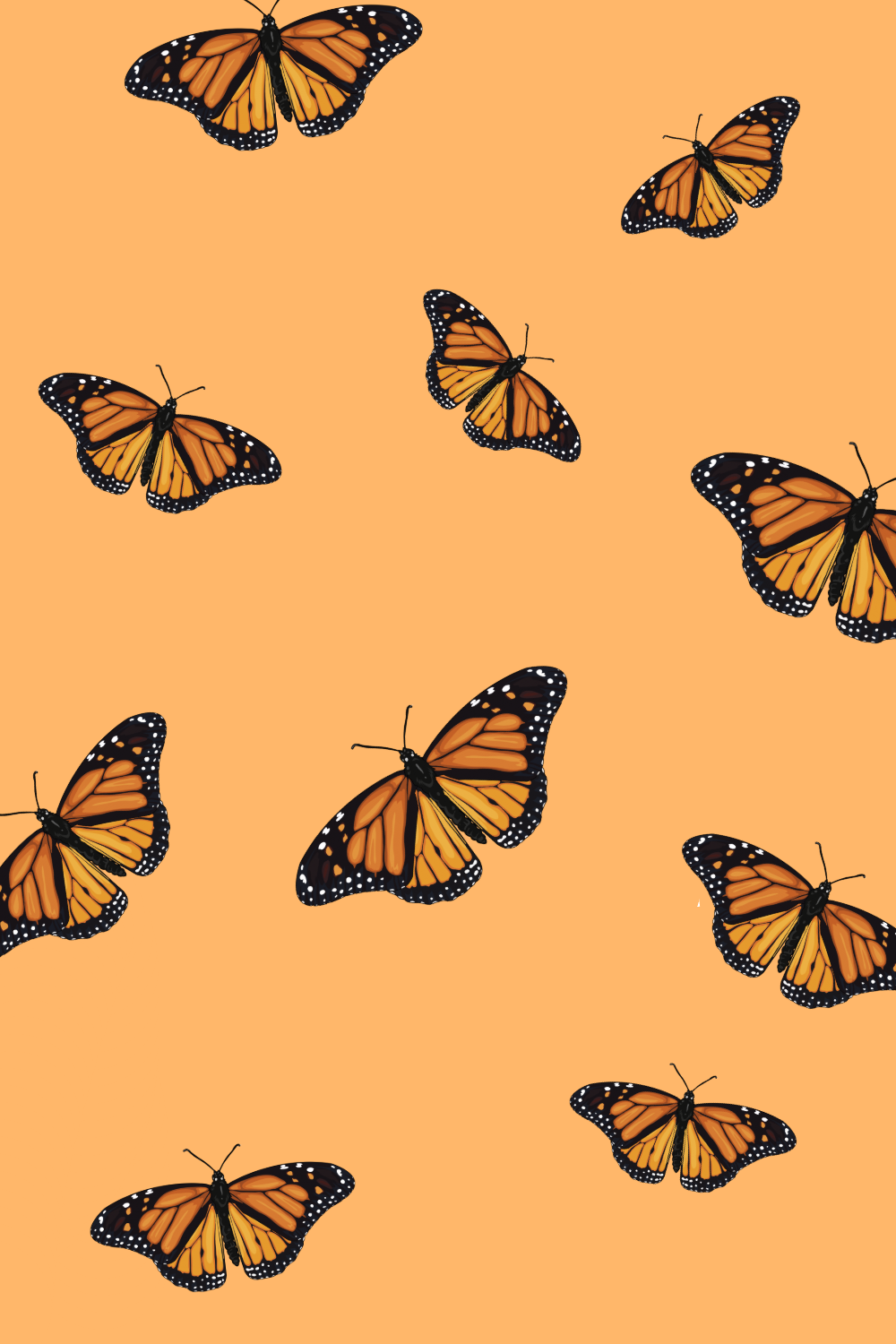 Cute Butterfly Wallpaper For Iphone Aesthetic
