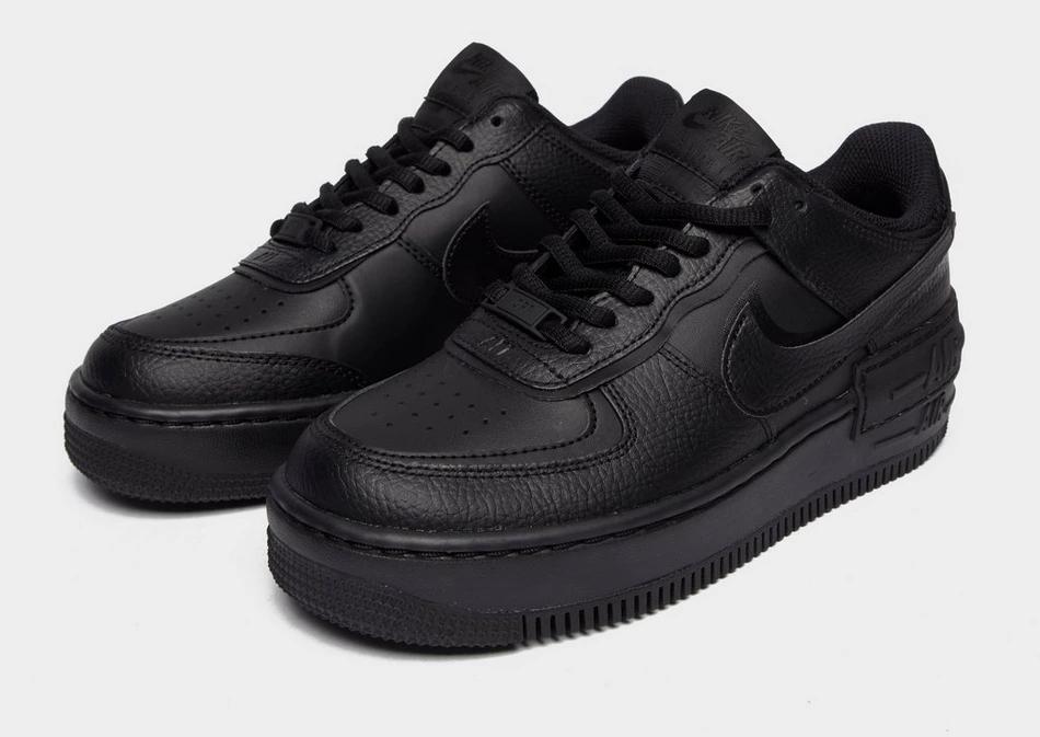 Black Nike Air Force 1 Shadow - JD