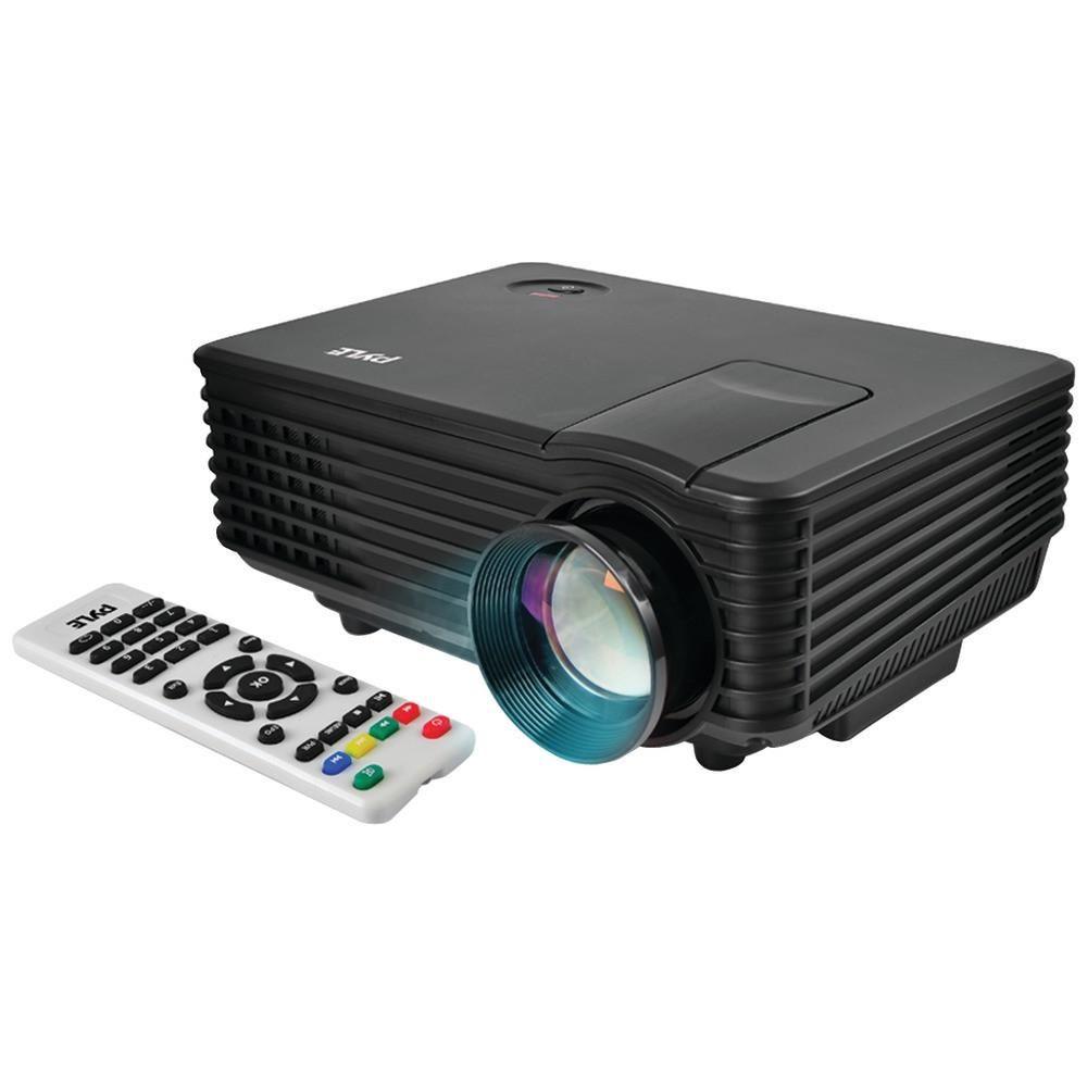Pyle Pro Prjg88 Compact 1080p Multimedia Projector Cus In116x