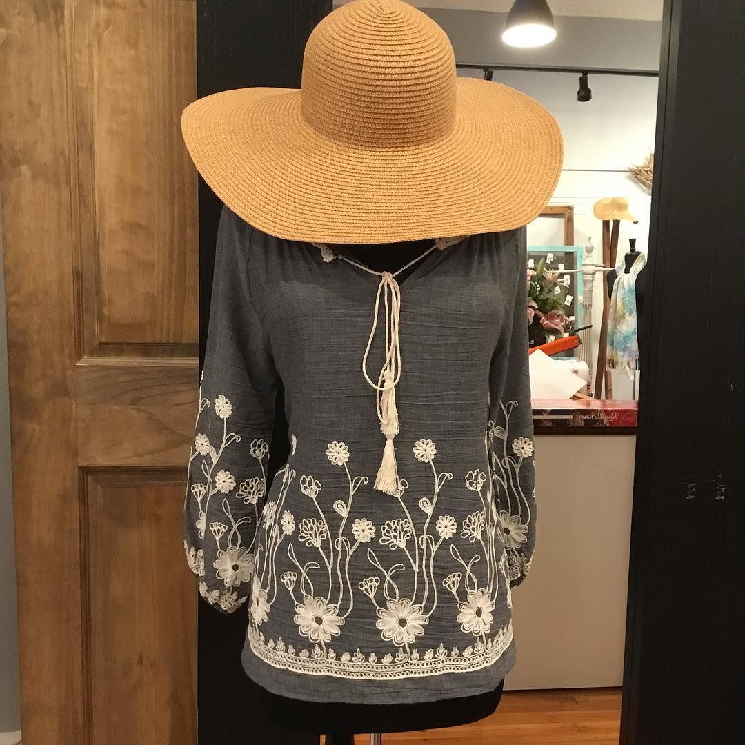 Embroidery is everything!!!! Www.lorelais.com #lorelaisstyle #shopsonbroadway #boutiquesonbroadway #uptowncolumbusgeorgia #shoplocal