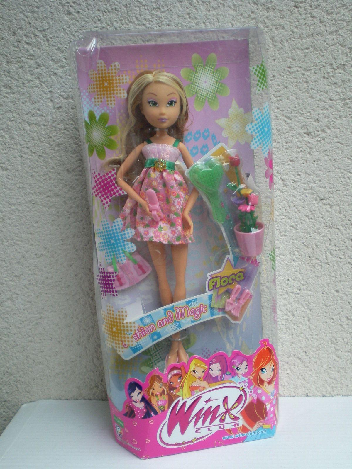 Rare Winx Club Flora Doll Fashion Magic Ebay Winx Club Winx