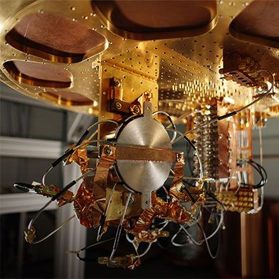 Inside Google S Quantum Computing Lab Questing For The Perfect