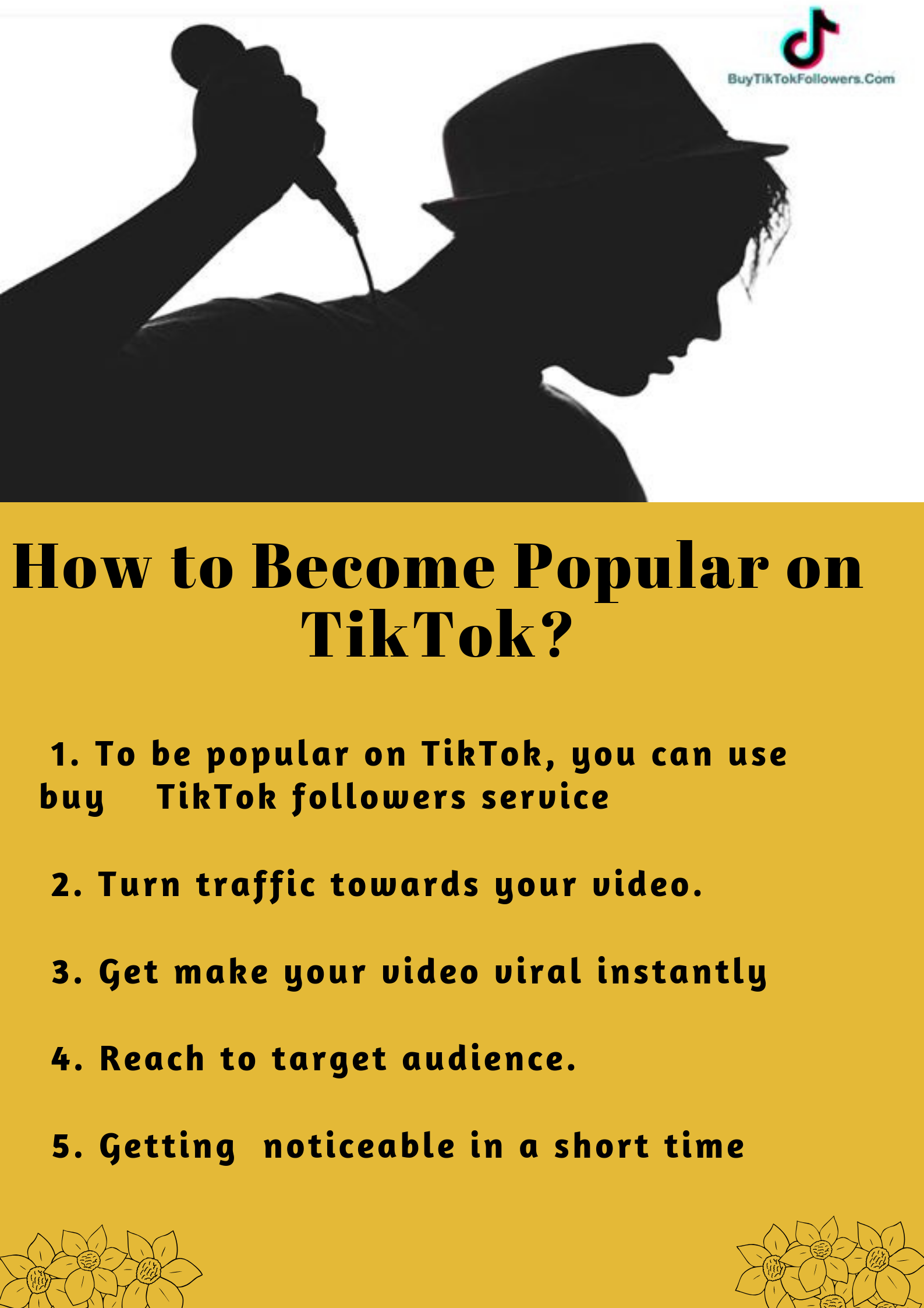 How To Become Popular On Tiktok How To Become Popular How To Become Social Media Services