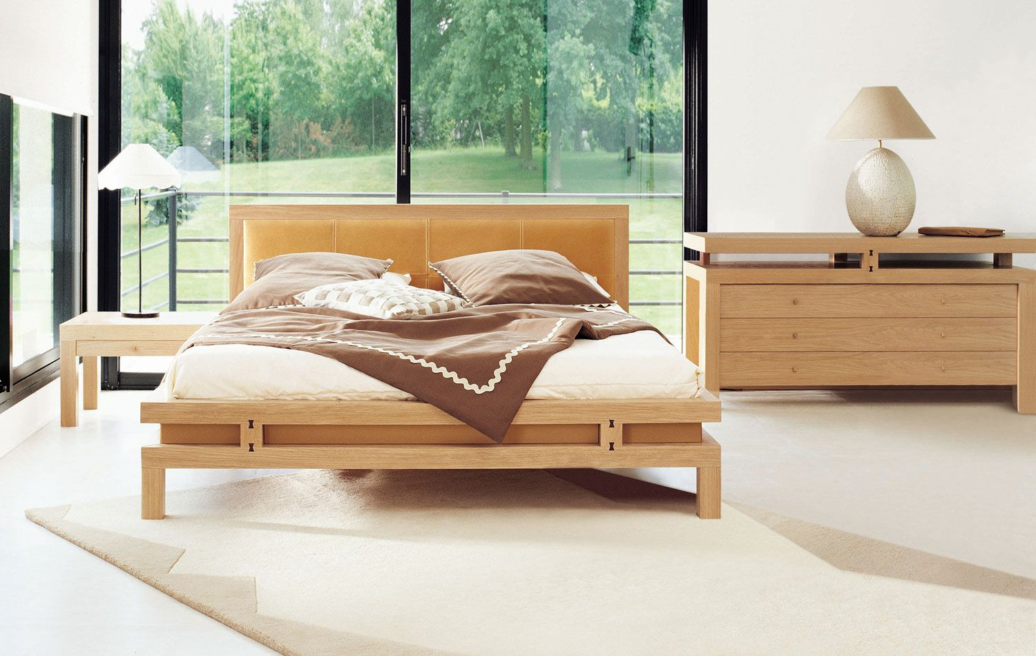bedroom inspiration 20 modern beds by roche bobois wood bed