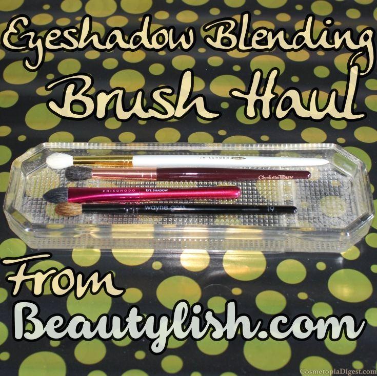Eyeshadow Blending Brush Haul From Beautylish Eyeshadow