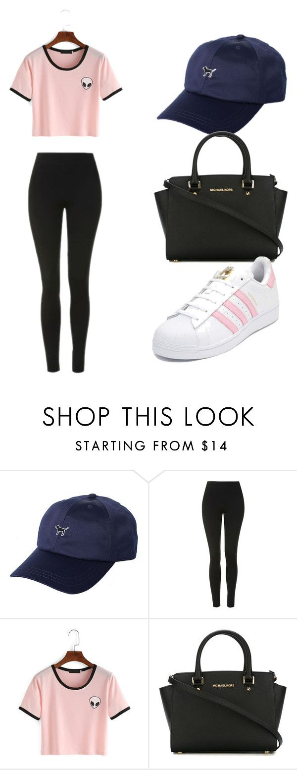 """""""Maria Grimes - 2"""" by richonne on Polyvore featuring Topshop, MICHAEL Michael Kors and adidas"""