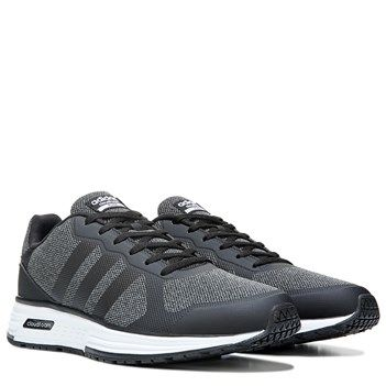 adidas neo cloudfoam flyer mens trainers grey