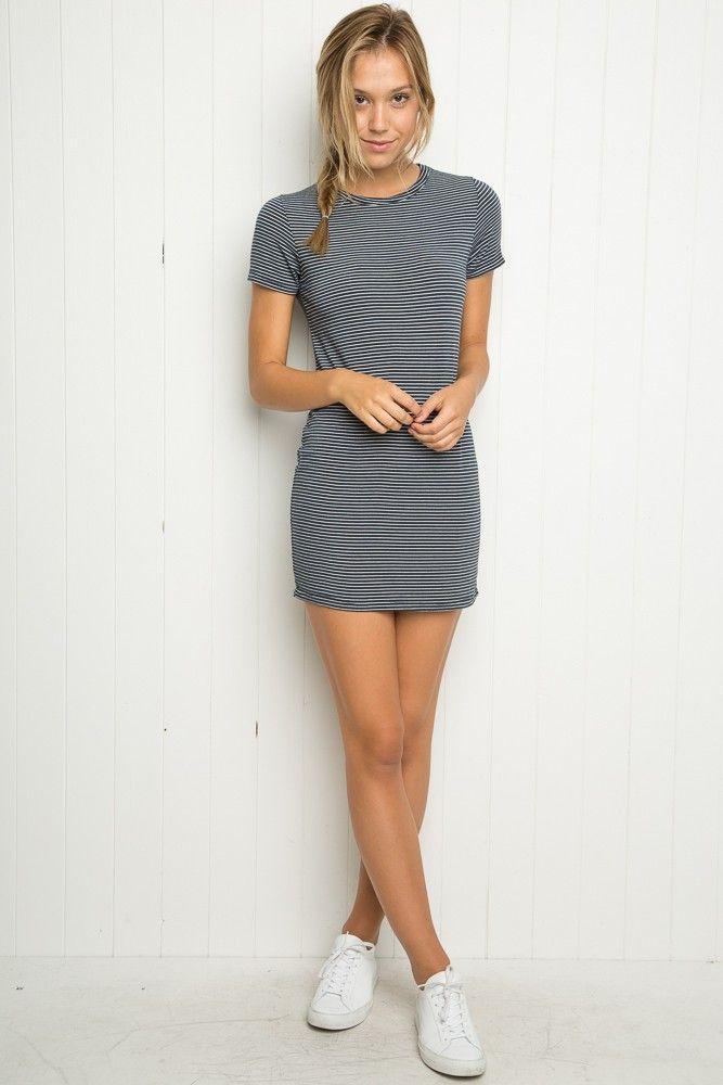 brandy melville shirt dress