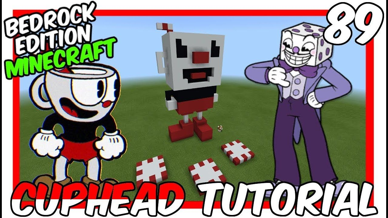 How To Make Pixel Art In Minecraft Bedrock Cuphead 3d Statue Tutorial Pixelart Bedrock Tutorial Minecraft Tutorial