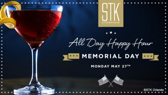 Memorial Days Deals at STK Orlando in Disney Springs! #disneyfoodblog