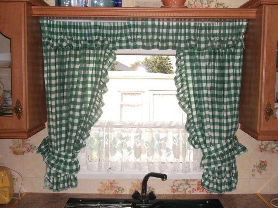 Curtain Ideas Kitchen  House Design Ideas  Curtain Inspiration Prepossessing Window Treatment Ideas For Kitchen Design Decoration