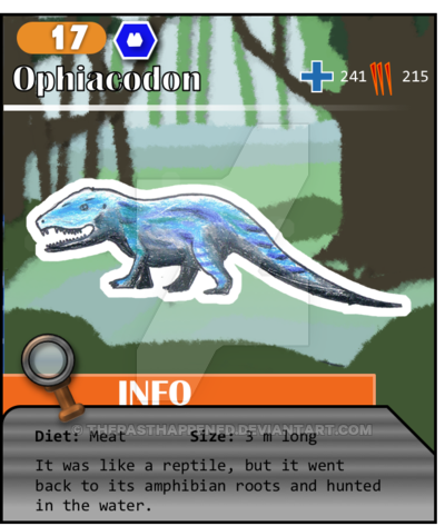 4ab01c148618 Paleo Series No. 17: Ophiacodon by ThePastHappened.deviantart.com on ...
