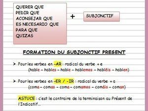 Le Subjonctif Ficha Ole Lardy Espagnol Apprendre Vocabulaire Espagnol Grammaire Espagnole