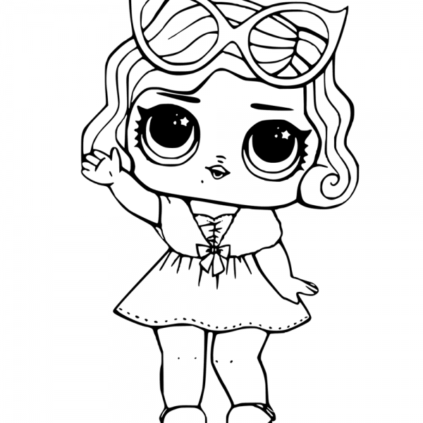 Mermaid Lol Surprise Doll Coloring Pages Merbaby Free Printable Coloring Pages Baby Coloring Pages Unicorn Coloring Pages Cute Coloring Pages