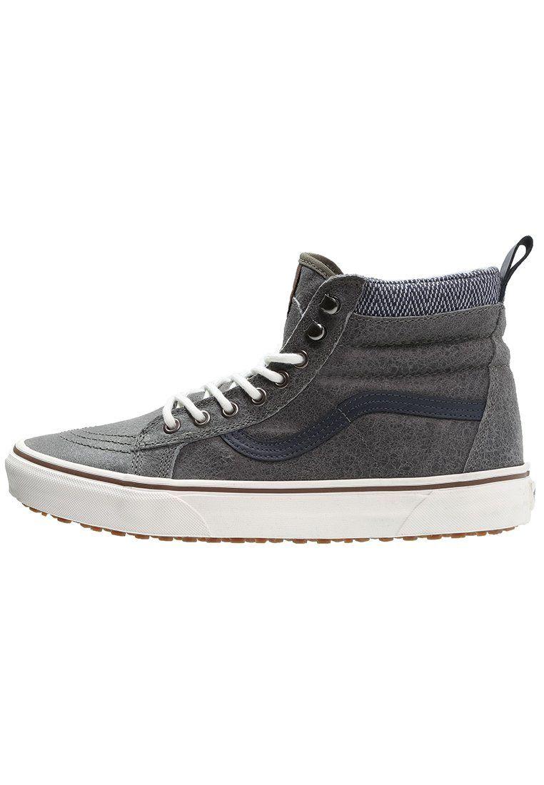 iconische Vans  SK8 MTE Sneakers hoog charcoal (grijs)
