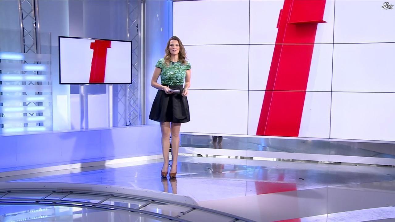 France Pierron dans Menu Sport. Diffusé à la télévision le