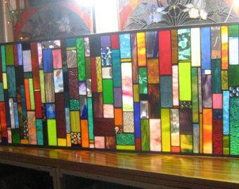 Cortinas de vidrio por stanfordglassshop en etsy - Vidrieras modernas ...