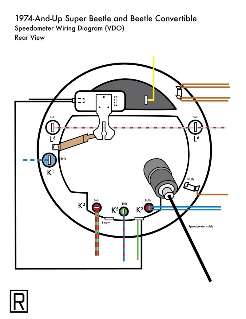 vw vdo tach wiring diagram vw speedometer wiring diagram wiring diagram data  vw speedometer wiring diagram wiring