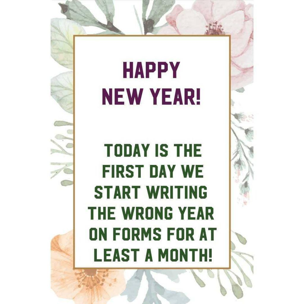 100+ Funny New Year 2020 Wishes & Greetings with Images