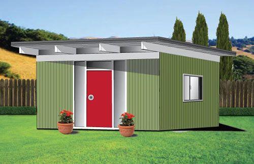 Backyard Eichlers midcentury modern sheds Eichler house style