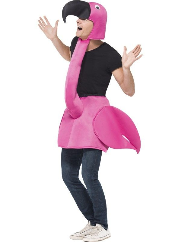 Flamingo Costume at funnfrolic.co.uk - £16.99 | Cosplay as a family ...