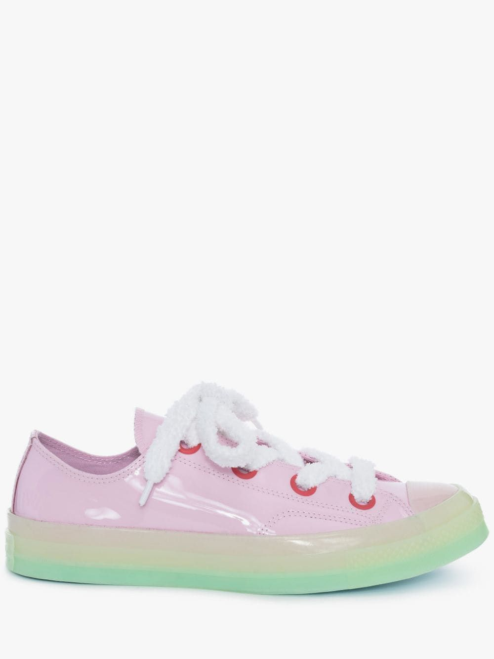 Light Pink Patent Low Top Chuck Taylor
