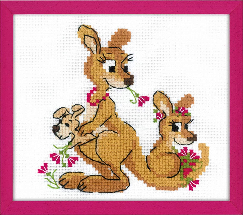 Набор для вышивания «Где гуляли кенгуру» (1786)   Купить ...