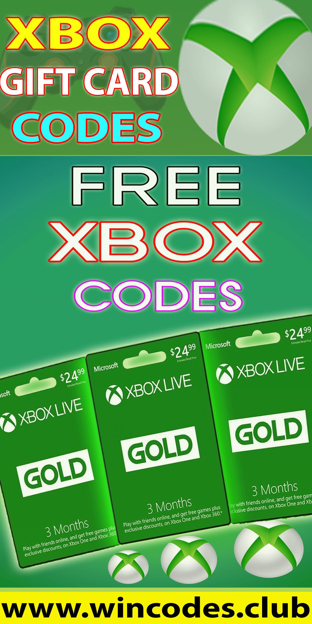 Free xbox gift card generator free xbox gift cards codes