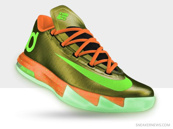 The Latest Nike KD 6 Cheap sale Chroma