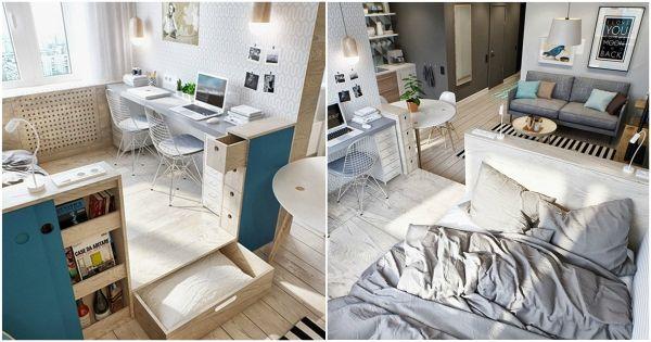 Apartamentos pequeños Ideas para aprovechar los espacios