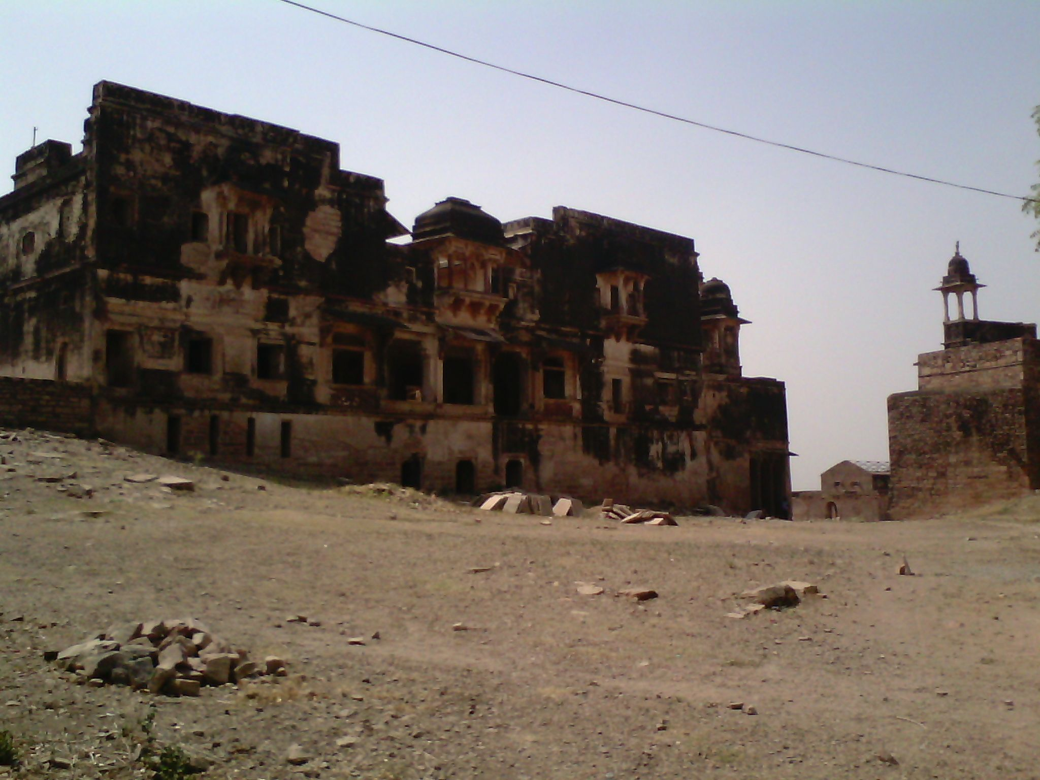 The Old Ruins Of The Great Mughal Empire In Gwalior