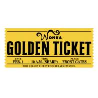 Wonka Golden Ticket Brands Of The World Download Vector Logos And Logotypes Golden Ticket Vector Logo Ticket Design