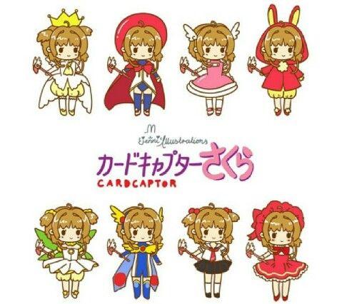 Sakura card captor chibi | CLAMP<3 | Pinterest | Shaoran, Cazadora y ...