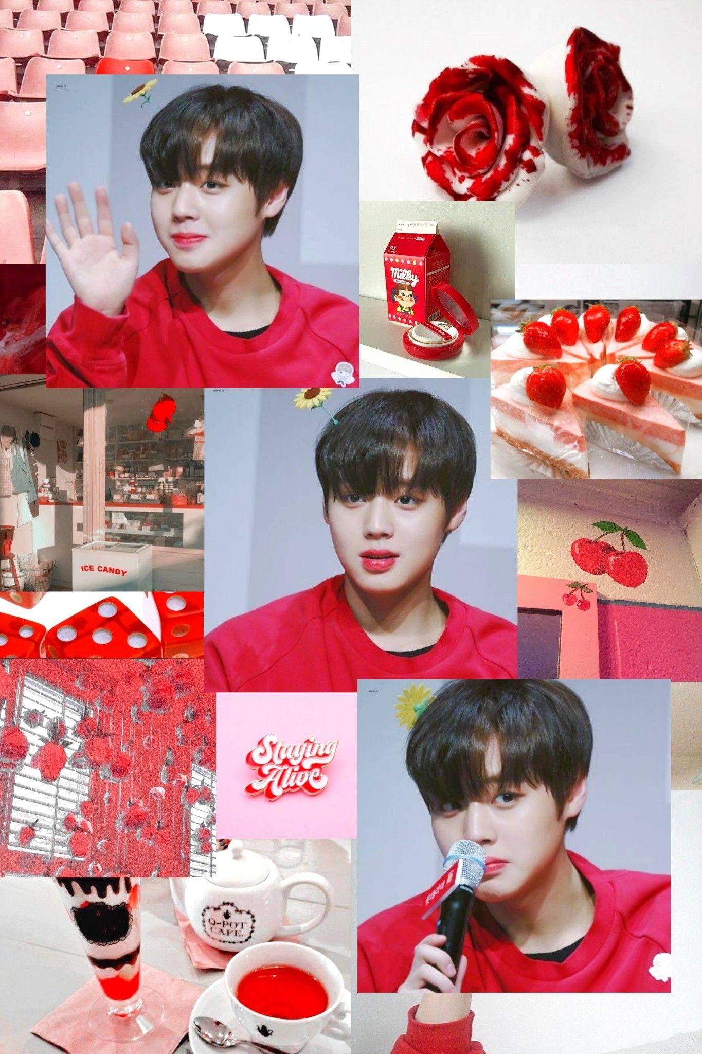 Wanna One Park Jihoon Aesthetic Kpop Wallpaper Aesthetic