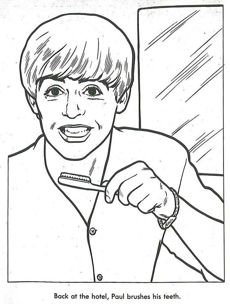 The Beatles Coloring Book | The Swingin\' Sixties | Pinterest ...