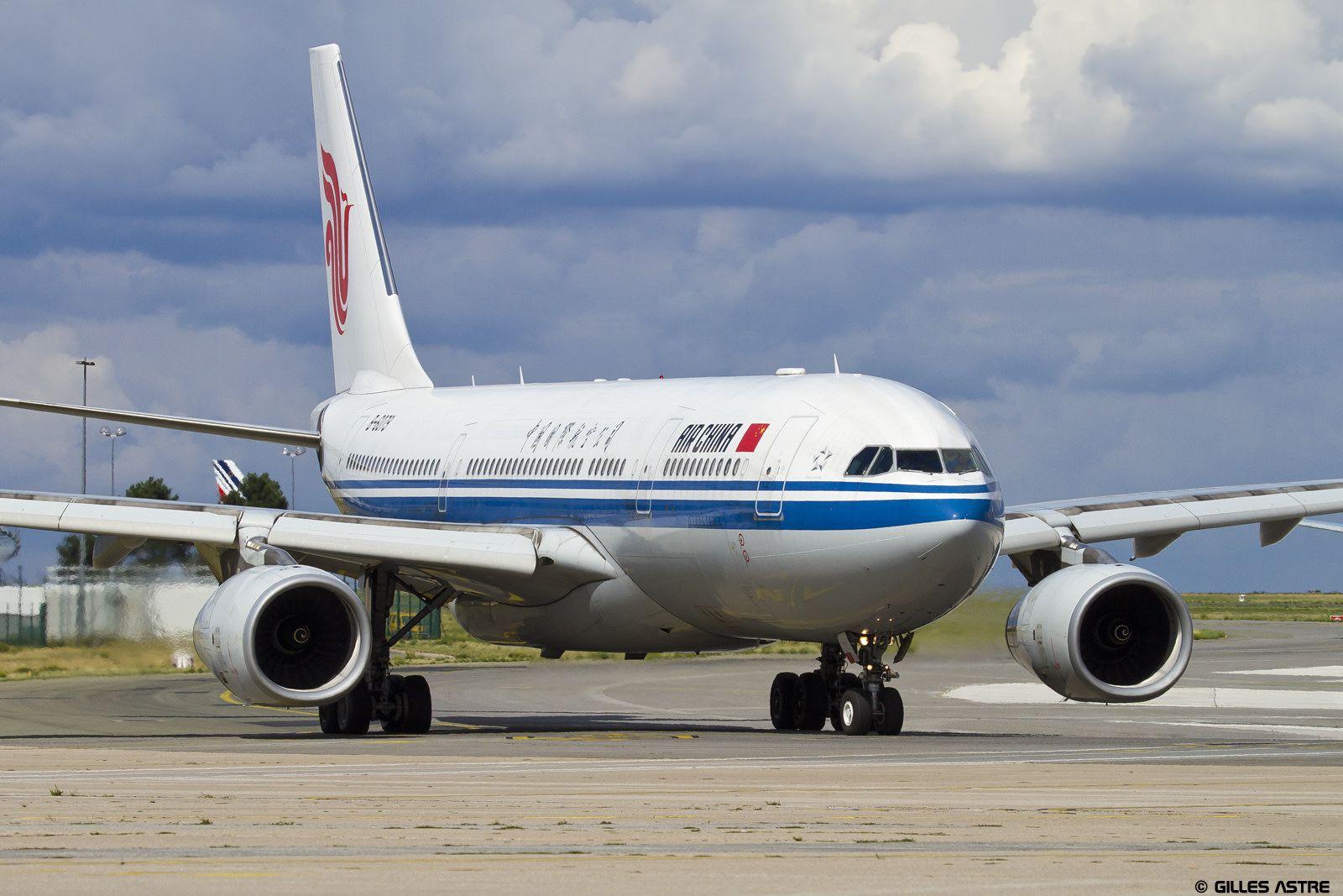LFPG 3 septembre 2015 Airbus A330 Air China B6079 Air
