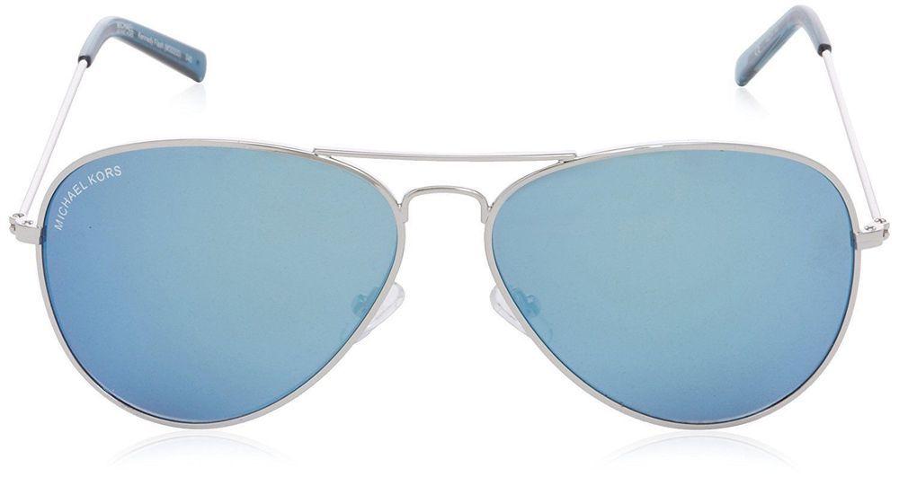 MICHAEL KORS M3005S 045 62-14-140 Kennedy Flash Blue Lense AVIATOR  SUNGLASSES   eBay aa606736d462