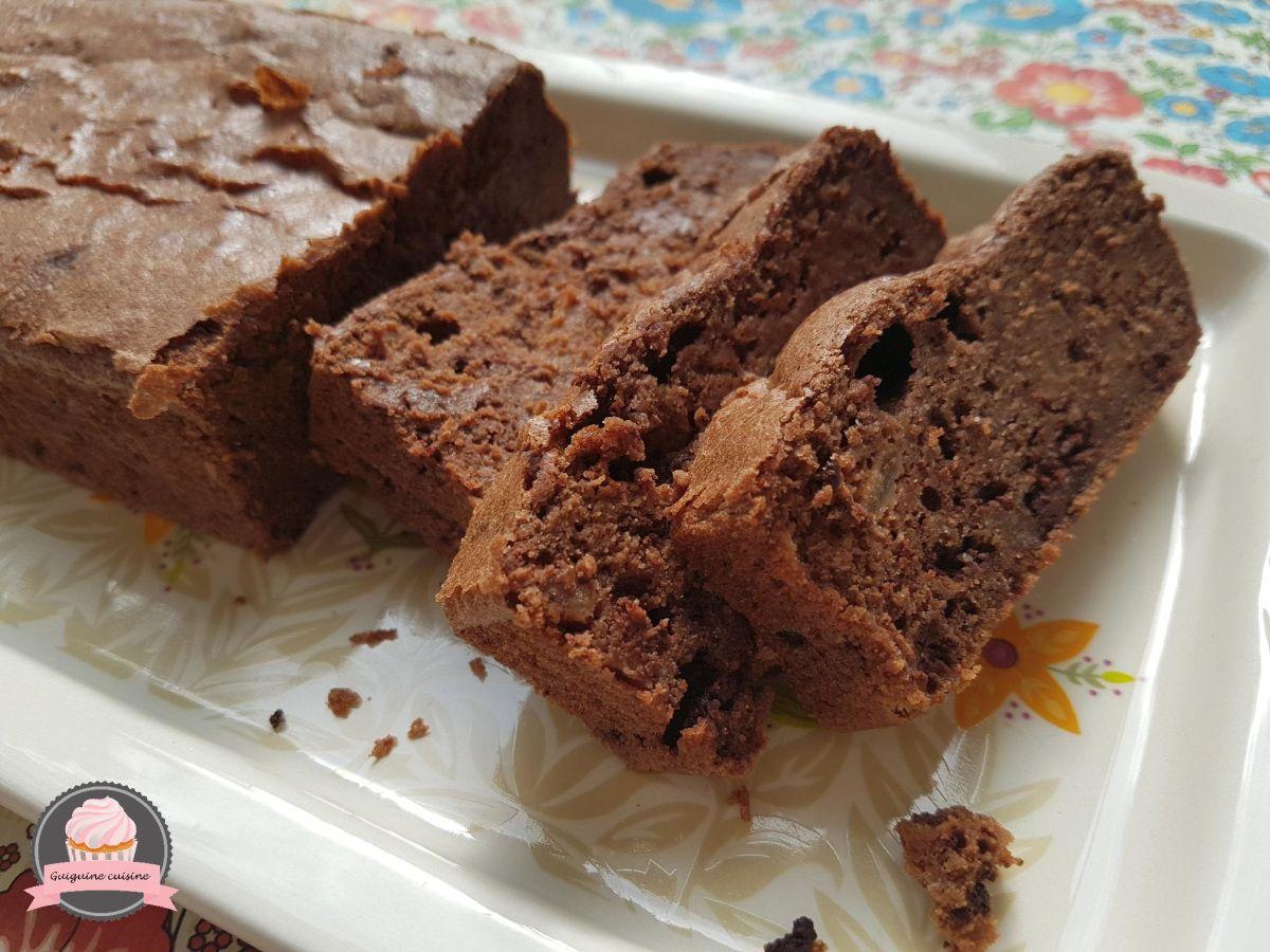 Gâteau au chocolat, sans beurre, à la compote | Gateau peu ...