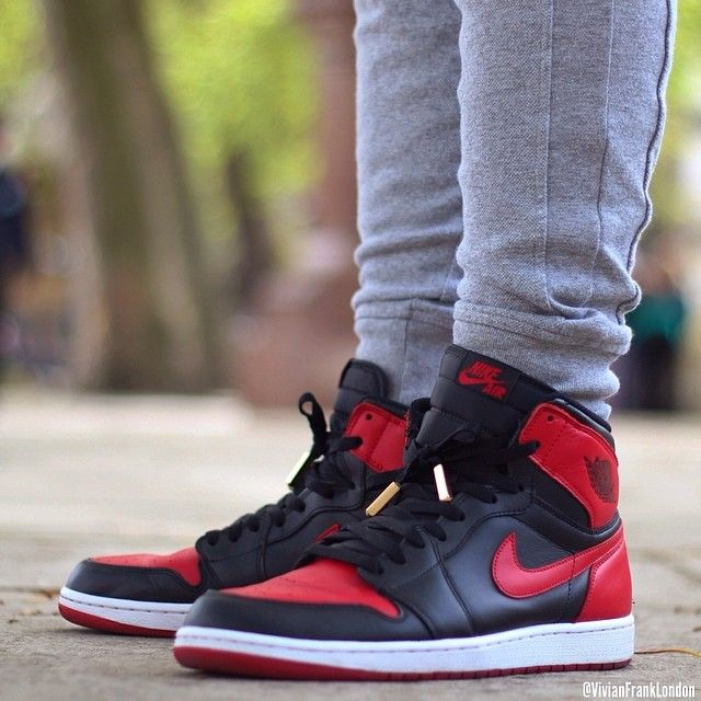 the best attitude 4b16a f92bc Bred 1 s with our gold aglets    vivianfranklondon Air Jordans