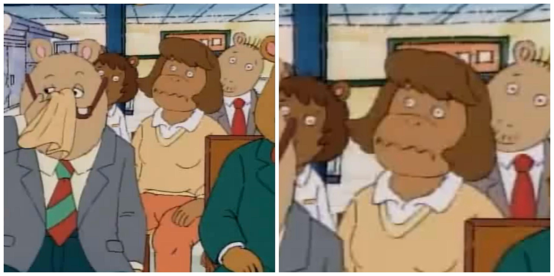 Whats Wrong With Her Face Arthur Tv Show Arthur The Aardvark Pbs Kids
