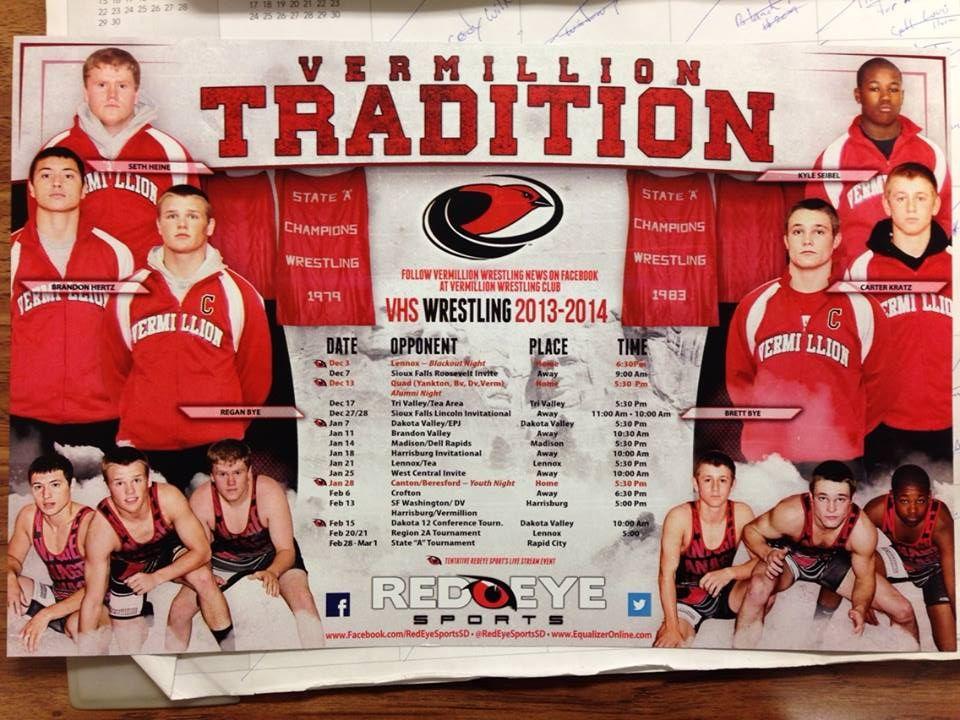 Vermillion High School Schedule 2013 Wrestling quotes