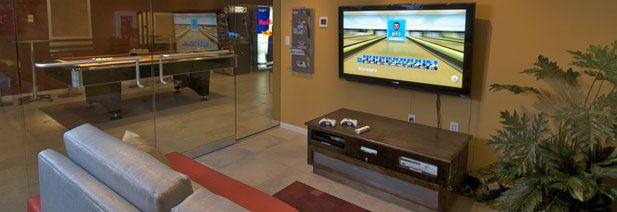 Take a breather and play some video games in our GAME ROOM | The Pavilion on Berry Saint Paul, Minnesota